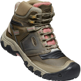 Keen Ridge Flex Mid WP Shoes Women, timberwolf/brick dust